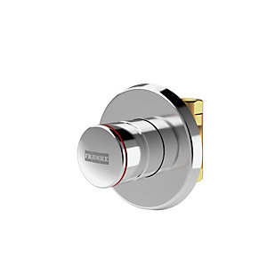Franke F3S Self-closing in Wall Straight Way Shower Valve