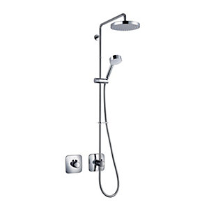 Mira Adept Thermostatic Mixer Shower (Concealed with Fixed Head & Diverter)