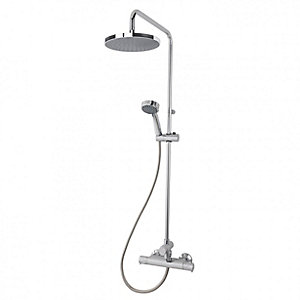 Triton Dene TMV2 Thermostatic Bar Mixer Shower with Diverter with Fast Fit Brackets