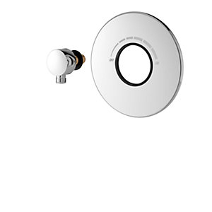 iflo Woolstone Thermostatic Mixer Shower Concealed Plate Kit