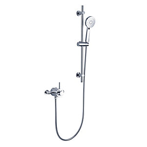 iflo Woolstone Thermostatic Mixer Shower with Exposed Valve