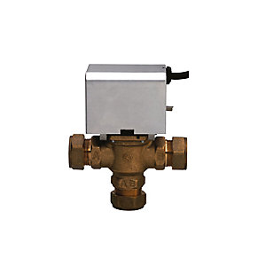 BOSSTherm™ 3-Port Motorised Mid Position Valve 28 mm