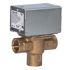 Honeywell 3-Port Motorised Diverter Valve 3/4 Inch BSP V4044C1098/U