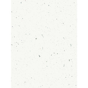 Multipanel Classic Bathroom Wall Panel Square Edged White Snow