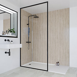 Multipanel Heritage Bathroom Wall Panel Hydrolock Delano Oak