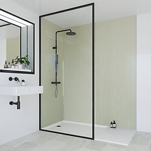 Multipanel Heritage Bathroom Wall Panel Hydrolock Esher Linewood