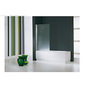 Novellini Aurora 1 Bath Shower Screen 1500 mm