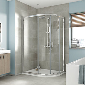 iflo Edessa Offset Quadrant Shower Enclosure 1200 x 800mm