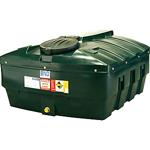 Harlequin 1200HQI Standard Bunded Low Profile Oil Tank