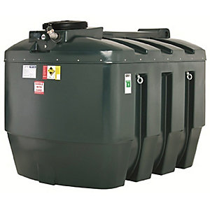 Harlequin 3500Ite High Specification Bunded Horizontal Oil Tank Complete & Tankpack