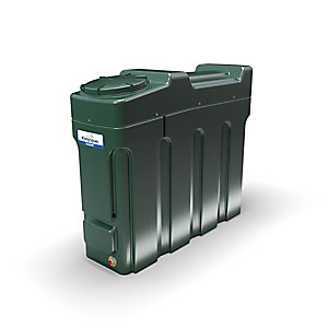 Kingspan Titan 1000 Litre Ecosafe Slimline Bunded Oil Tank - Bottom Outlet