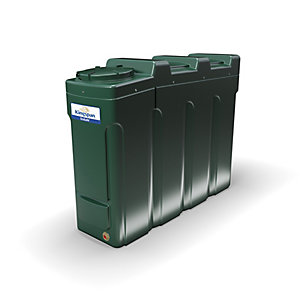 Kingspan Titan 1400 Litre Ecosafe Slimline Bunded Oil Tank - Bottom Outlet