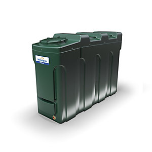 Kingspan Titan 2000 Litre Ecosafe Slimline Bunded Oil Tank - Bottom Outlet