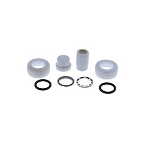 Aqualisa 073220 Outlet Assembly Pack White