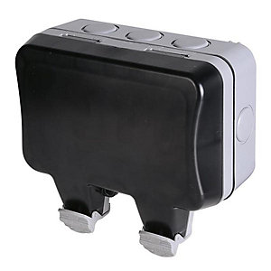 BG 13A 2 Gang IP66 Outdoor Socket - WP22