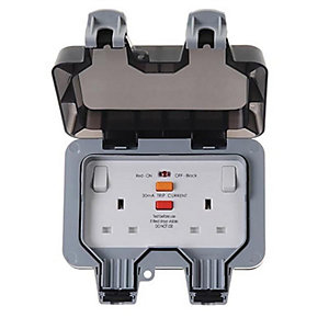 BG 13A 2 Gang Latching RCD Socket - WP22RCD