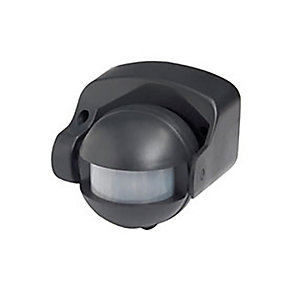 Robus L180 IP44 180 Degree Motion Detector - Black