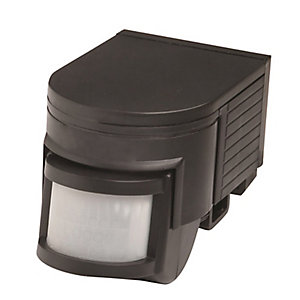 Robus R180 IP44 180 Degree Motion Detector - Black