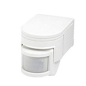 Robus R180 IP44 180 Degree Motion Detector - White