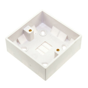 Vimark 1 Gang 33mm Pattress Box - V1222