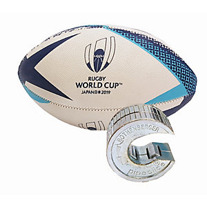 Rothenberger Pipe Slice NO1 15mm with Free Licensed Rugby World Cup Ball (Small, Assorted Colours)
