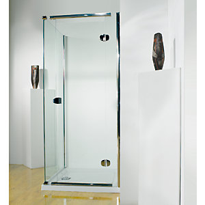 Kudos Infinite Pivot Door Shower Enclosure 1200 mm (Right Hand) 4HD120RHS