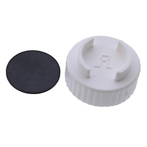 Worcester 87161112520 Flue Cap Black & White
