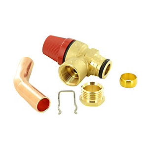 Remeha 720481601 Safety Pressure Relief Valve