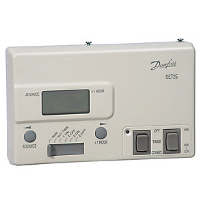 Danfoss SET2E 2-Channel Mini Programmer 24 Hour 087N654100