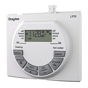 Drayton LP20 Dual Channel Programmer 25039DR