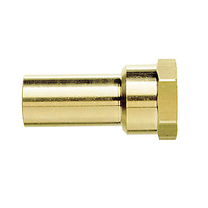 "JG Speedfit Brass Female Stem Adaptor 22mm x 3/4"" - MW502216N"