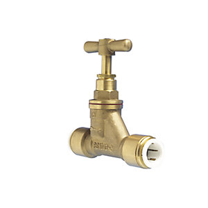 JG Speedfit Brass Stop Valve 15mm 15BSC