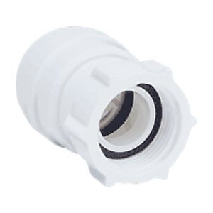 "JG Speedfit Female Tap Connector 15mm x 3/4"" - PSE3203W"