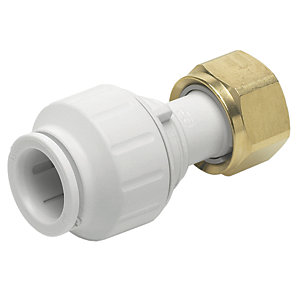 "JG Speedfit Straight Tap Connector 10mm x 1/2"" PEMSTC1014"