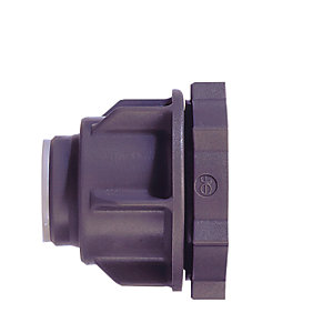 JG Speedfit Tank Connector Grey 15mm - CM0715S