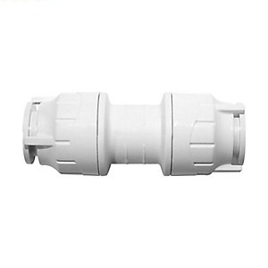 Polypipe PolyFit Straight Coupler 28mm - FIT028