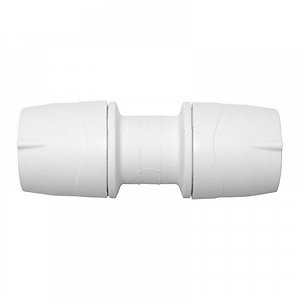 Polypipe PolyMax Straight Coupler White 28mm - MAX028