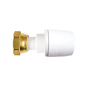 "Polypipe PolyMax Straight Tap Connector 22mm x 3/4"" - MAX722"