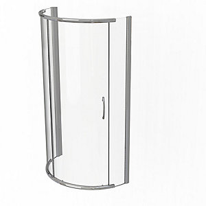 Kudos Infinite Curved Quadrant Sliding Door Shower Enclosure 910 x 910 mm 4SCD91S