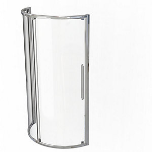 Kudos Original Curved Quadrant Sliding Door Shower Enclosure 910 x 910 mm 3SCD91S