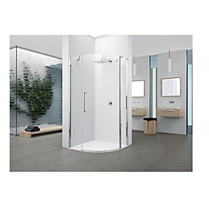 Novellini Young Clear Glass Quad Shower Enclosure 2000mm x 1000mm Y2R1A100-1K