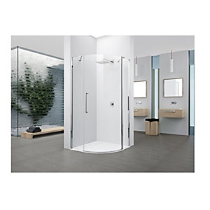 Novellini Young Clear Glass Quad Shower Enclosure 2000mm x 800mm Y2R1A80-1K