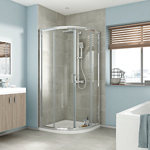 iflo Edessa Quadrant Shower Enclosure 800mm x 800mm