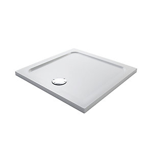 Mira Flight Low Profile Rectangle Shower Tray 760 x 760 mm