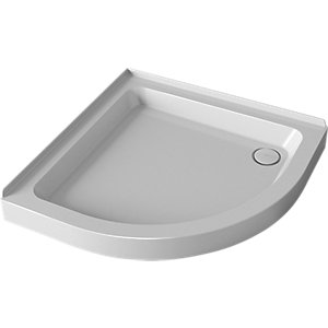 Mira Flight Quadrant Shower Tray 900 mm (2 Upstands)
