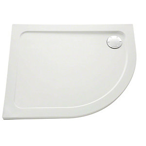 Mira Flight Safe Low Profile Quadrant Shower Tray 900 x 900 mm
