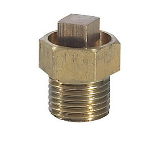 Brass Radiator Air Vent 1/2 inch
