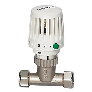 Honeywell Home Valencia Traditional TRV 15mm Straight Body VT117-15S