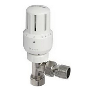 Pegler Yorkshire 15mm Mistral Angle TRV Compression with 15 x 10mm Elbow 42295