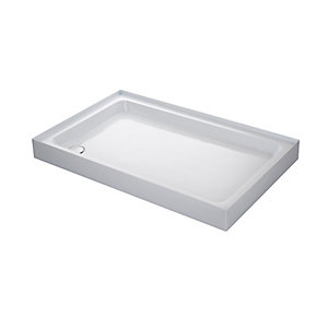 Mira Flight Rectangle Shower Tray 1200 x 760 mm (4 Upstands)